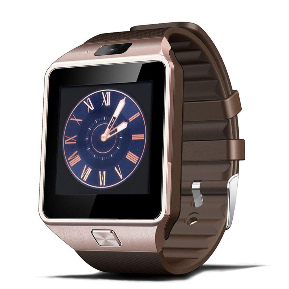 2016 plus récent Wearab montre intelligente dz09 avec caméra Bluetooth montre-bracelet carte SIM Smartwatch pour Ios téléphones Android bon comme U8 gt08