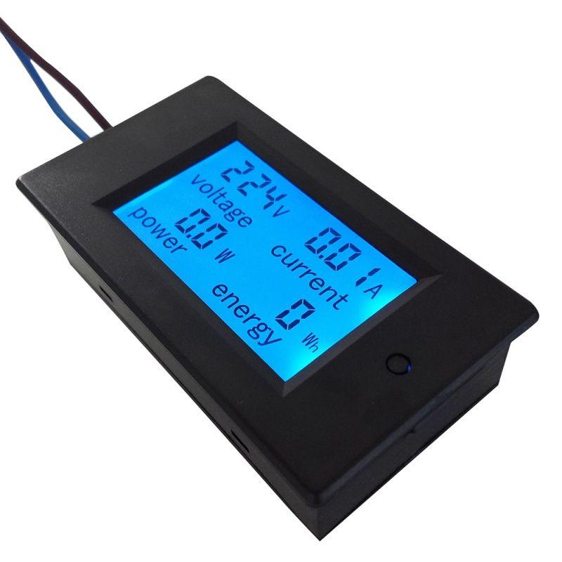 1 pcs AC 80-260 v Numérique Tension Mètres indicateur Puissance D'énergie Voltmètre Ampèremètre actuel Ampère Volt wattmètre testeur détecteur