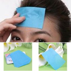Neue Einer Packung (30 Stücke) Papier Zellstoff Gelegentliche Gesichtsöl Absorption Film Gewebe Make-Up Blotting Paper