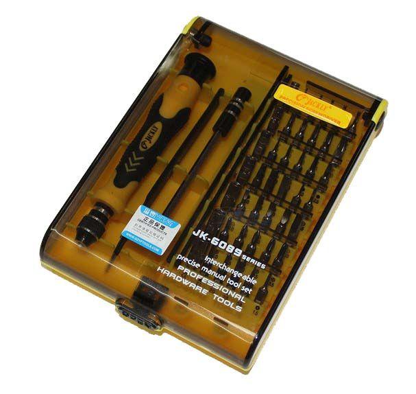 JACKLY JK6089A ensemble de tournevis magnétique 45 en 1 ensemble de tournevis de précision Kit d'outils Torx 100% Original JACKLY JACKMY