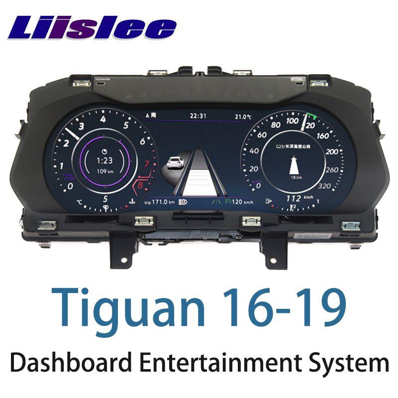 LiisLee Instrument Panel Ersatz Dashboard Unterhaltung Intelligente System für Volkswagen Tiguan 2016 2017 2018 2019