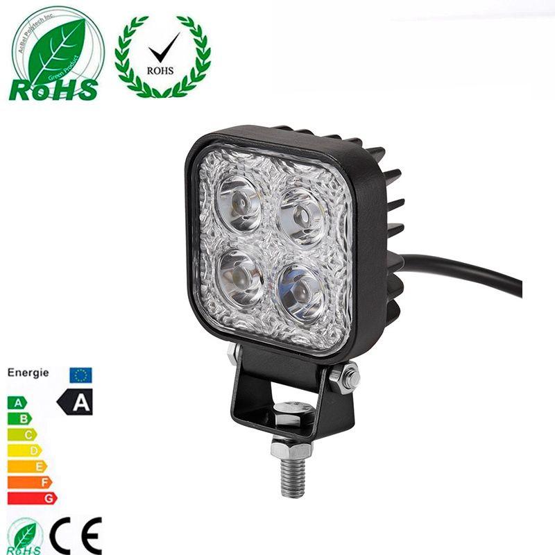 1 Pc 900LM Mini 6 Inch 12W 4 X 3W Car LED WORK Light Bar as Worklight/ Flood Light / Spot Light off road for Vehicle SUV ATV