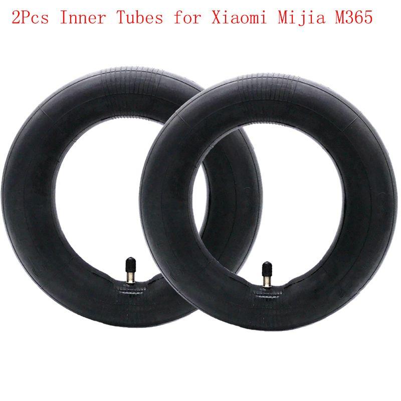 2 Pcs Intérieure Tubes Pneumatique Pneus pour Xiaomi Mijia M365 Électrique Scooter 8 1/2x2 Version Améliorée Durable Épais Roue Pneu