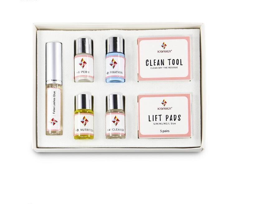 Lash Lift Professional Lashes Perm Set Lash lift Kit Makeupbemine Eyelash Perming Kit 2019 Dropshipping Beauty Salon
