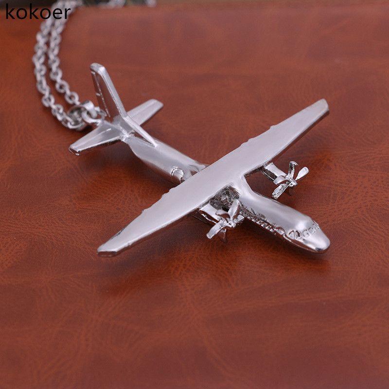 Цепь из нержавеющей стали длинные ожерелье-ошейник для женщин панк воротник женщина ожерелье RAS шеи Joyas кристалл ожерелье самолет
