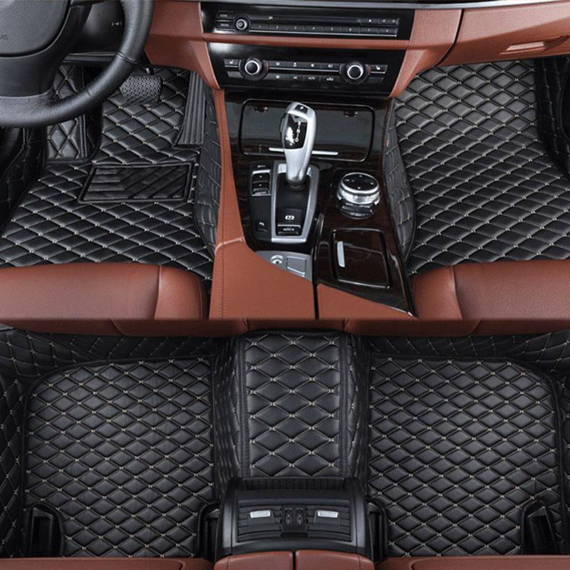 car floor mats for Lexus All Models ES IS LS RX NX GX GTH GS LX car styling car accessories Custom foot Pads Car carpet
