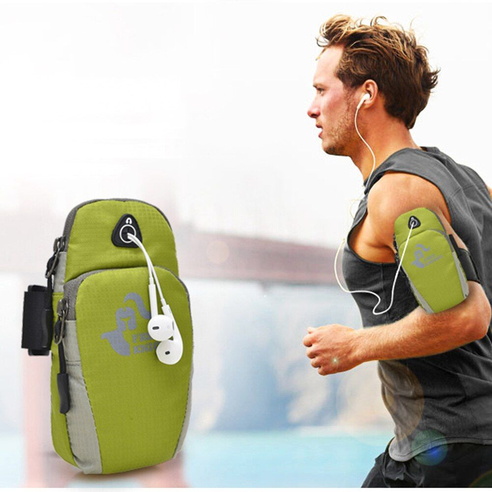 FREIE RITTER Sport Armbandtasche Reißverschluss Fitness Running Arm Band Tasche Jogging Workout Abdeckung forMobile Phone7Plus Smartphone