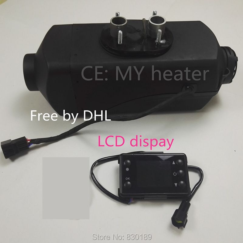 (Free shipping by dhl) 2 KW 12V /24V air parking heater for truck Boat Rv - similar to Snugger, Webasto diesel heater.