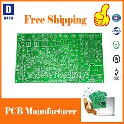Gratis Pengiriman Biaya Rendah Prototipe PCB Produsen, 1-6 Lapisan FR4 PCB Papan Sirkuit, aluminium PCB, Stensil, Membayar Link 1