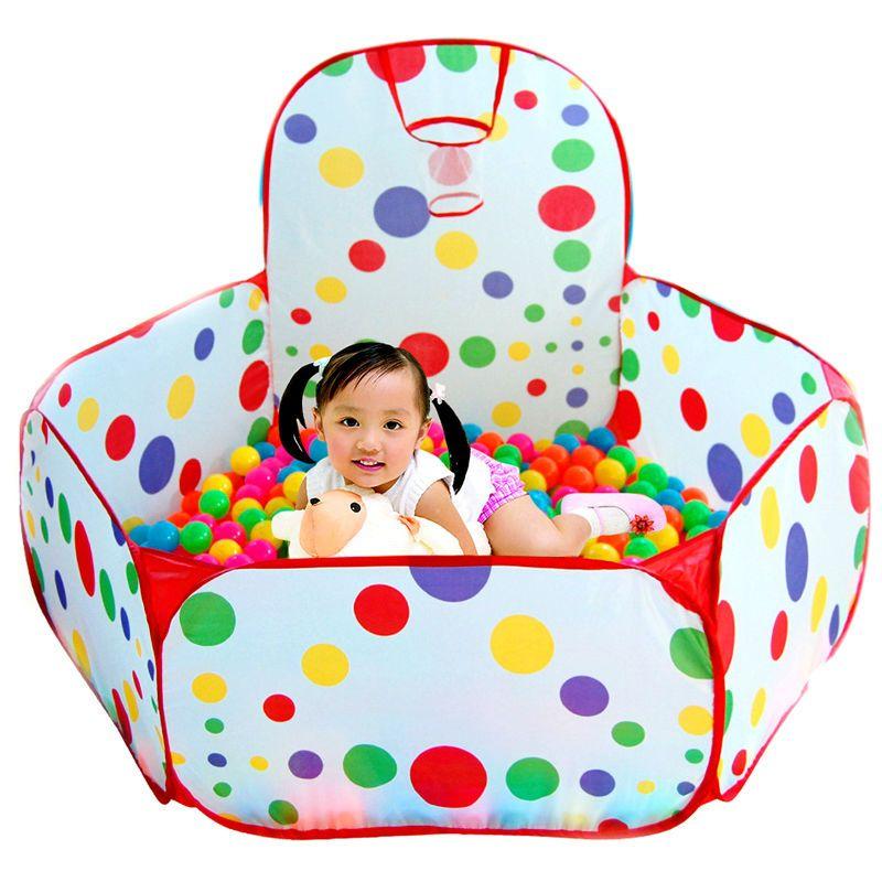 Pliable Jouer Tente pour Enfants Océan Piscine À Balles/Pit Garçons Filles Chidren Jouer Maison Cadeaux Dans/Extérieure Jouet tentes de Haute Qualité
