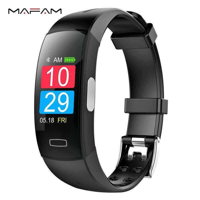 MAFAM EKG PPG Smart Armband Fitness Schrittzähler Kalorien Herzfrequenz Blutdruck Smart Uhr Armband Armband Für Männer Frauen