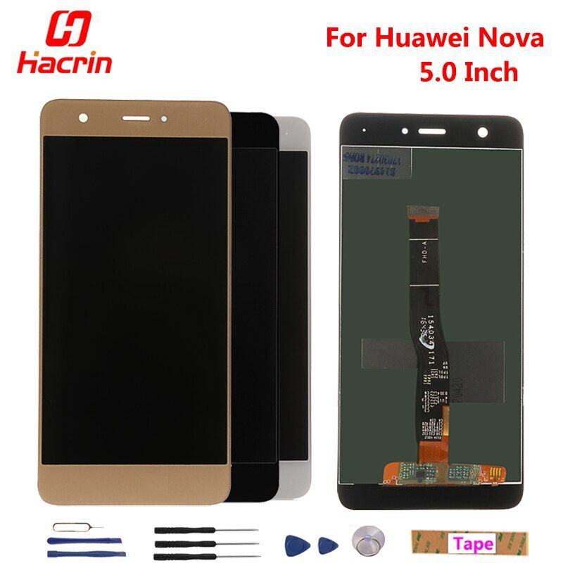 Huawei Nova LCD Display + Touch Screen 100% New Digitizer Assembly Replacement Accessories For Huawei Nova 5.0inch Phone
