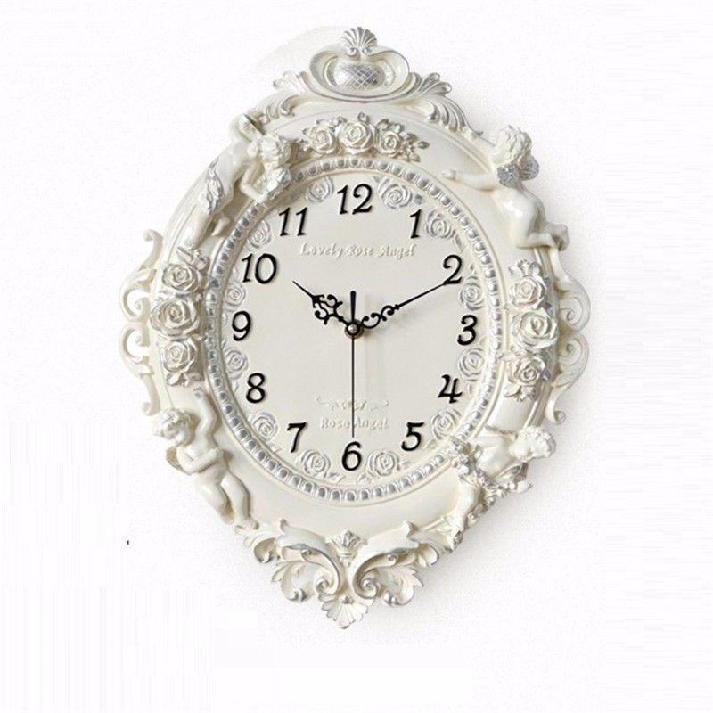 Barber Shop Jam Dinding Murale Grande Taille Kitchen Reloje Casa Relogio De Parede Saat Reloj Pared Horloge Mural Clock Wall