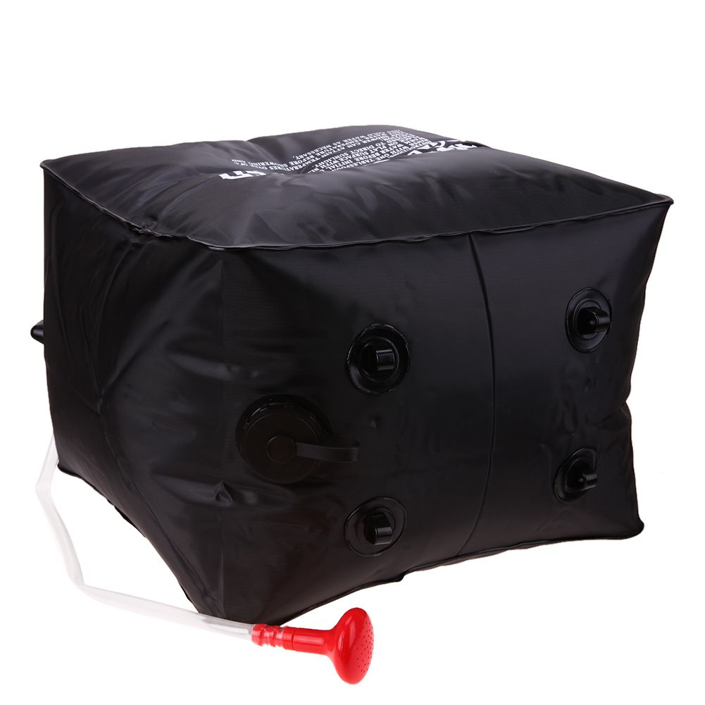40L Shower Bag Foldable Solar Energy Heated Camp PVC Water Bag Outdoor Camping Travel <font><b>Hiking</b></font> Climbing BBQ Picnic Water Storage