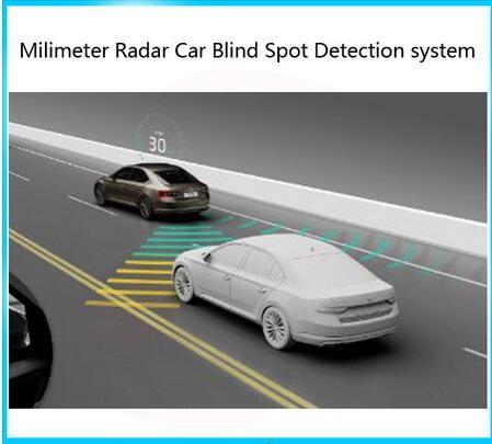Best Microwave Radar Sensor Blind Spot Detection car System BSD Change Lane ASSIST WARNING DETECTOR Monitoring Alert System