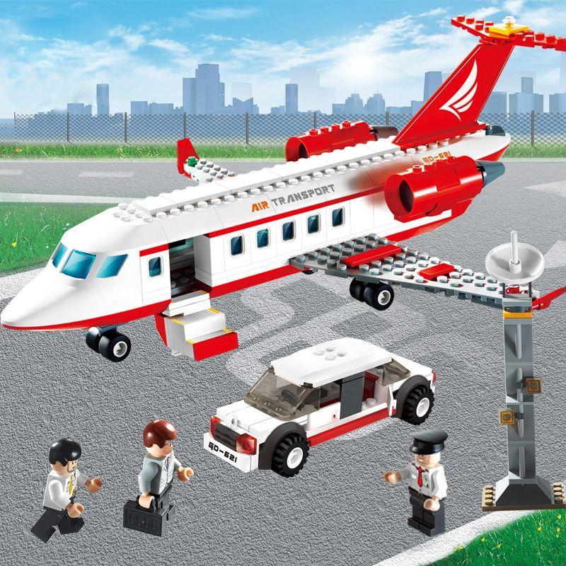 GUDI 334 pcs Avion Jouet Air Bus Modèle Avion Blocs Ensembles Modèle DIY Briques Classique Garçons Jouets Compatible Avec legoed