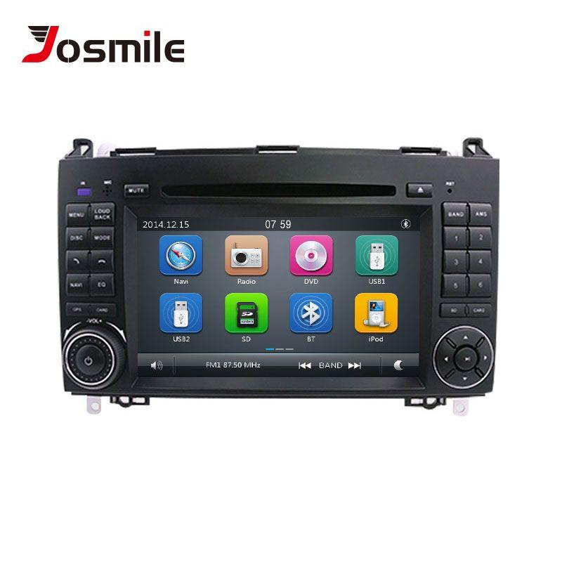 2 Din Auto DVD Player Für Mercedes Sprinter Vito W639 Viano B Klasse W169 W245 W209 W906 Benz B200 Radio multimedia GPS Navigation