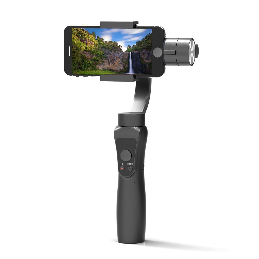 Newest Smooth 3-Axis Handheld Gimbal Portable Stabilizer for iPhone 8 X Xiaomi Samsung S9 S8 S7 Smart phone Gopro Action Camera