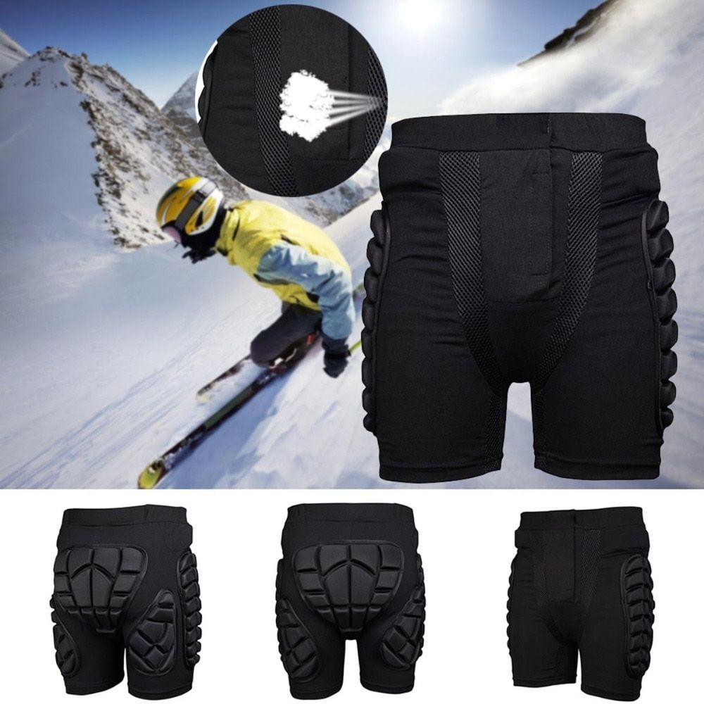 Outdoor Short Protective Hip Butt Pad Bicycle Ski Skate Snowboard Skating Protection Drop Resistance Roller Padded Shorts