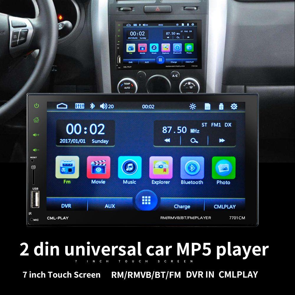 LaBo High Power 7 ''2Din HD Auto Radio Mp5 In-Dash Touch Screen Bluetooth Rückfahrkamera Auto Stereo FM + Wireless fernbedienung