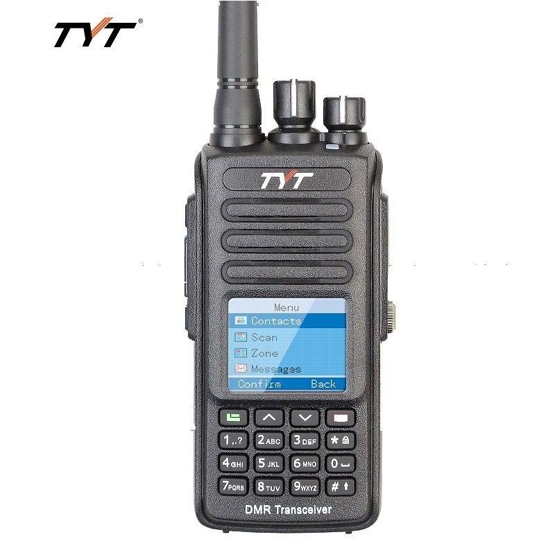 TYT MD398 Digital Walkie Talkie DMR 10W Transmit Power UHF 400-470MHz Waterproof IP67 Dustproof ham Two Way Radio Interphone