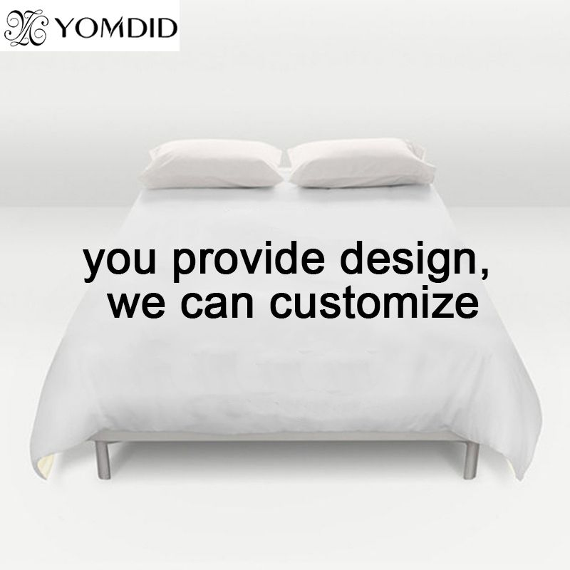 Customize Bedding set Customer Customize Printed Pillowcase Twin Full Queen King Size 3pcs set 4pcs set Duvet Cover Pillowcases