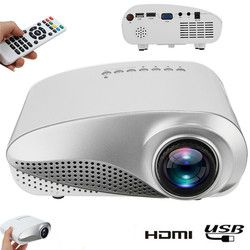 New Clear Mini Portable 1080P 3D HD LED Projector Multimedia Home Theater USB VGA HDMI TV Home Theatre System