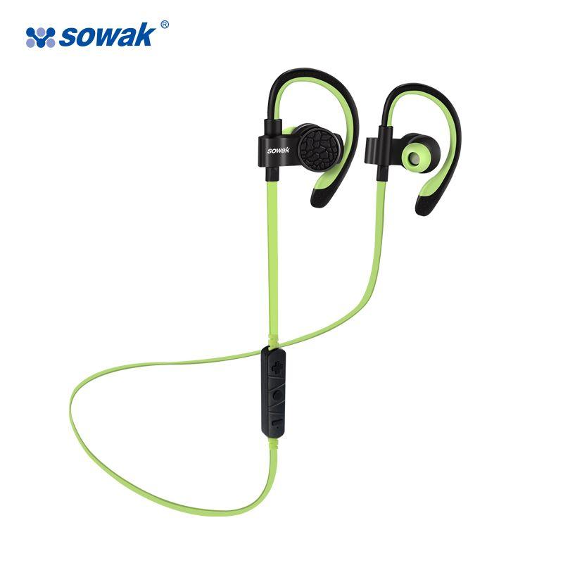Sowak Bluetooth 4.1 Sans Fil Sport Casque À La Sueur de Course Gym Exercice Casque Mains Lumière Livraison Appelant avec Micro casque
