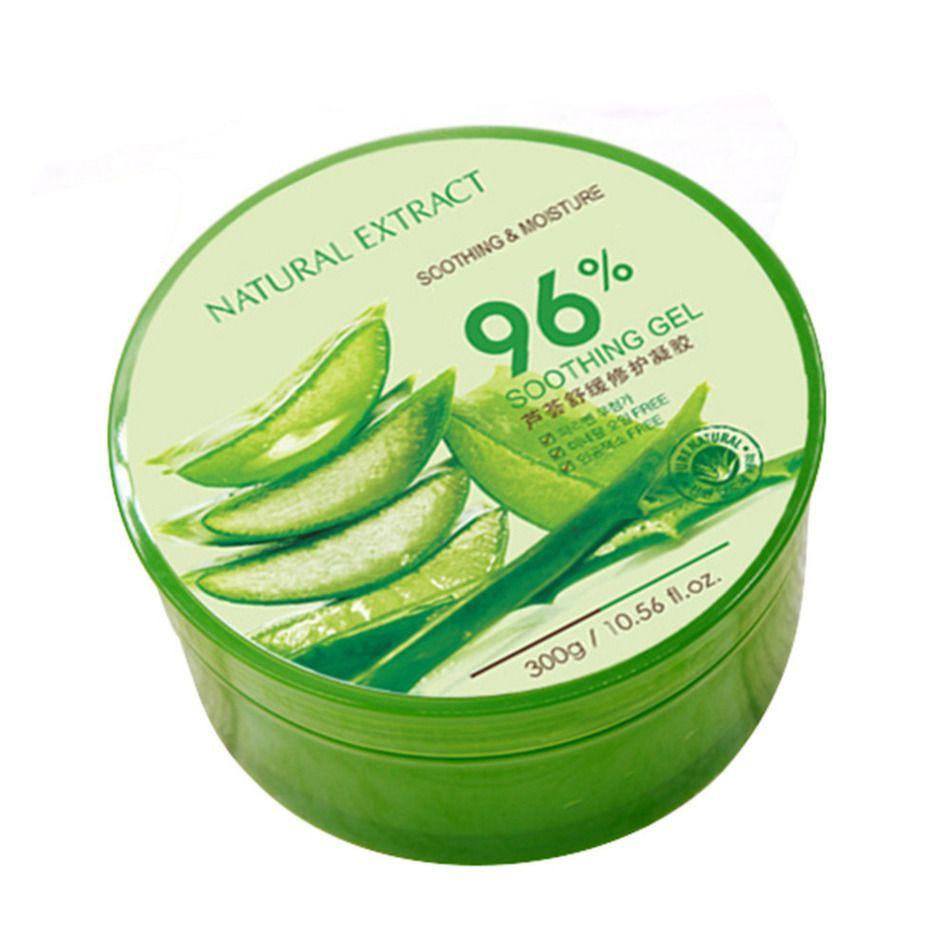 300g 100% Pur Naturel Aloe Vera Gel Élimination Des Rides Hydratant Anti Acné Anti-sensible Huile-Contrôle Aloe vera Crème Solaire Crème