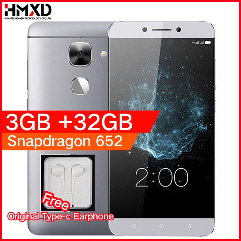 Original LeEco LeTV Le S3 X522 3GB RAM 32GB ROM Snapdragon 652 1.8GHz Octa Core 5.5