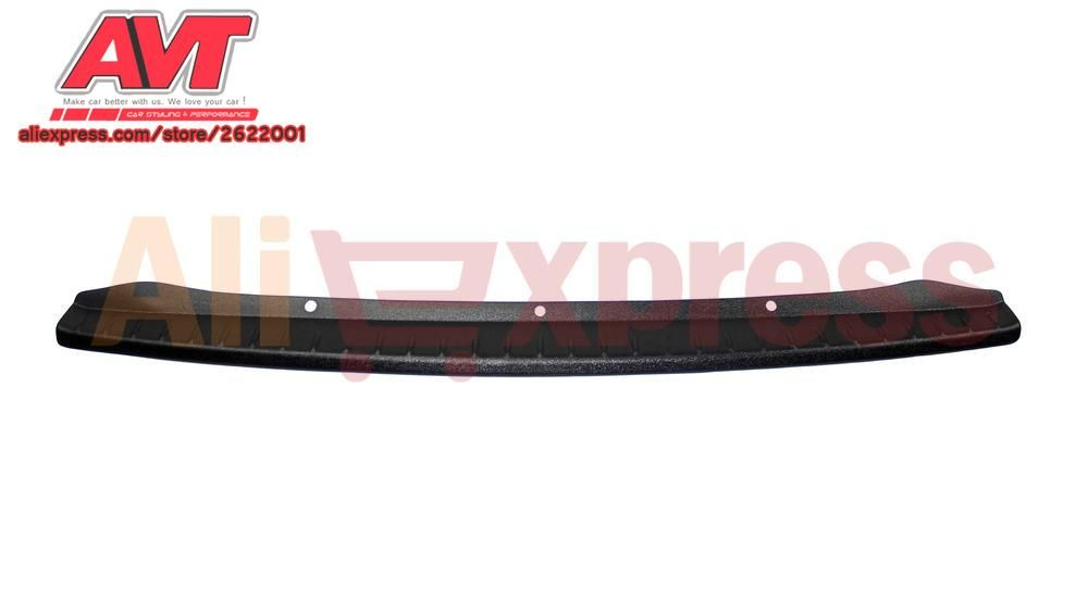 Pad for Lada Vesta SD / SW / SW Cross  on rear bumper plastic ABS protection car chrome trim accessories protection car styling