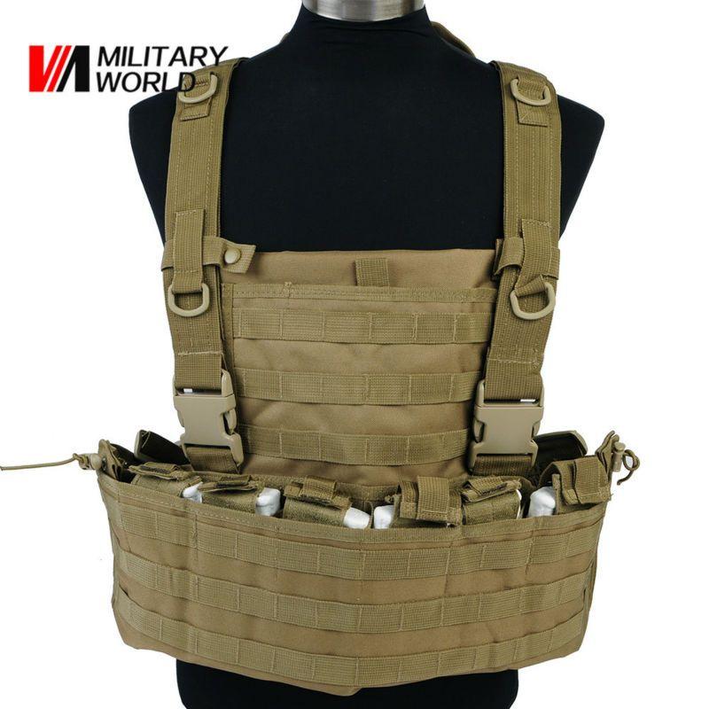 Airsoft Molle 600D Nylon Taktische Weste mit Feuchtigkeit/MagazinePouch Military Camouflage Schießen Jagd Westen Männer Sportswear $