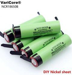 2019 Новый Оригинальный NCR18650B 3,7 v 3400 mah 18650 литиевая аккумуляторная батарея Сварка никель листовые батареи