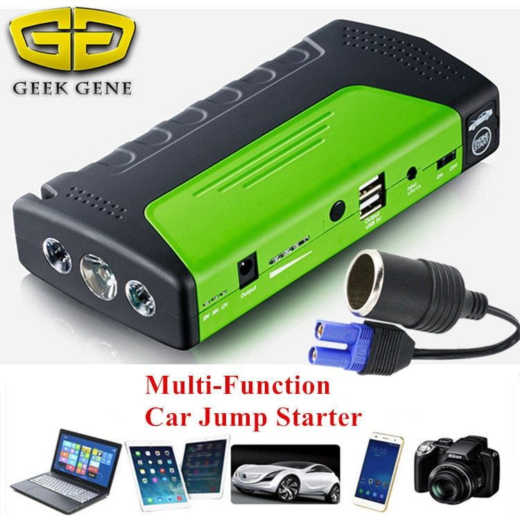 2018 Mini Emergency Starting Device Car Jump Starter 12V Portable Power Bank Car Charger for Car Battery Booster Petrol Diesel