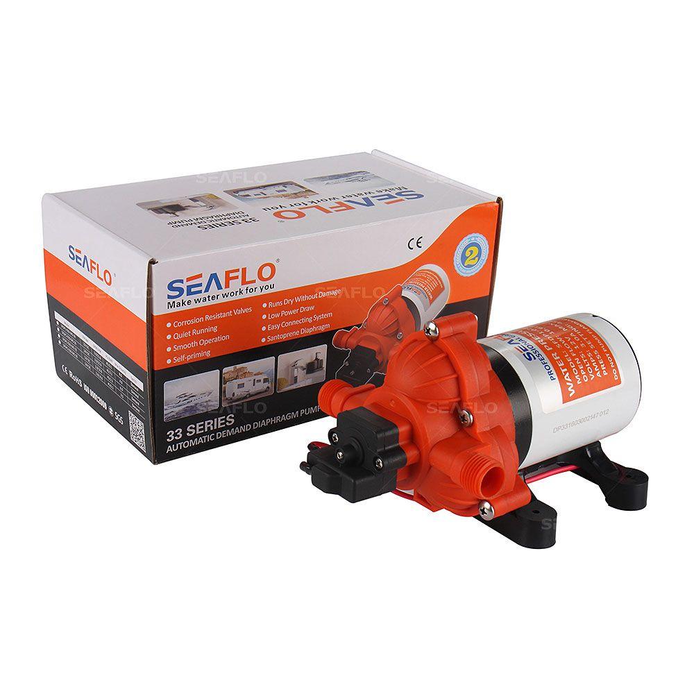 2016 Hot Selling Automatic demand Marine Water Diaphragm Pump 12V DC Seaflo