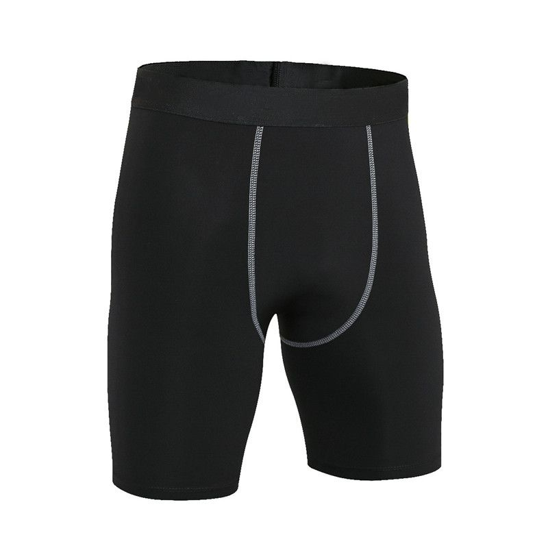 JINXIUSHIRT Summer Running tight Men Sport Bottom Football Short Gym Fitness Tight Shorts Training Sports Compression Short