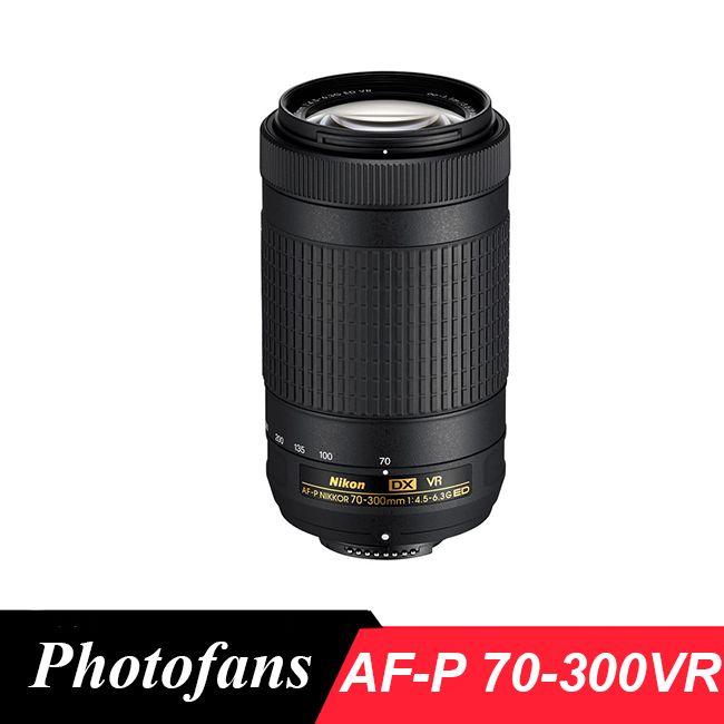 Nikon 70-300 VR AFP Nikkor AF-P DX 70-300mm f/4.5-6.3G ED VR for D7200, D7100, D5600, D5500, D5300, D5200, D3400, D3300, D500