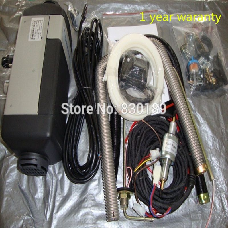4KW 12V 24V air parking heater for gas and diesel car \ Van - similar with Webasto & Eberspaecher type.
