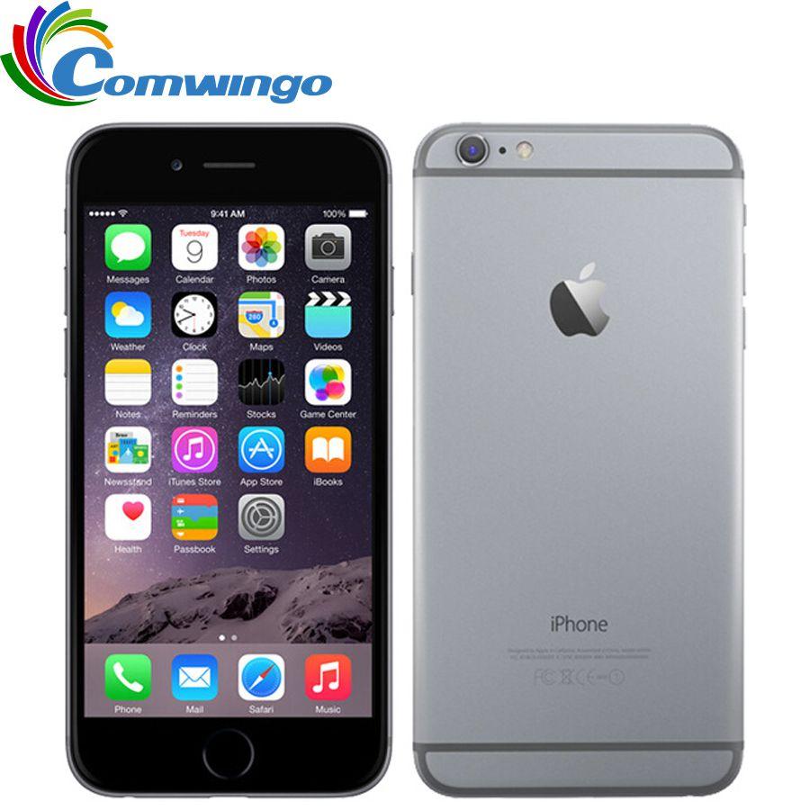 Original Unlocked Apple iPhone 6 Plus <font><b>mobile</b></font> phone 5.5 Dual Core 16G/64GB/128GB Rom IOS iphone 6plus 8MP Camera 4K video LTE