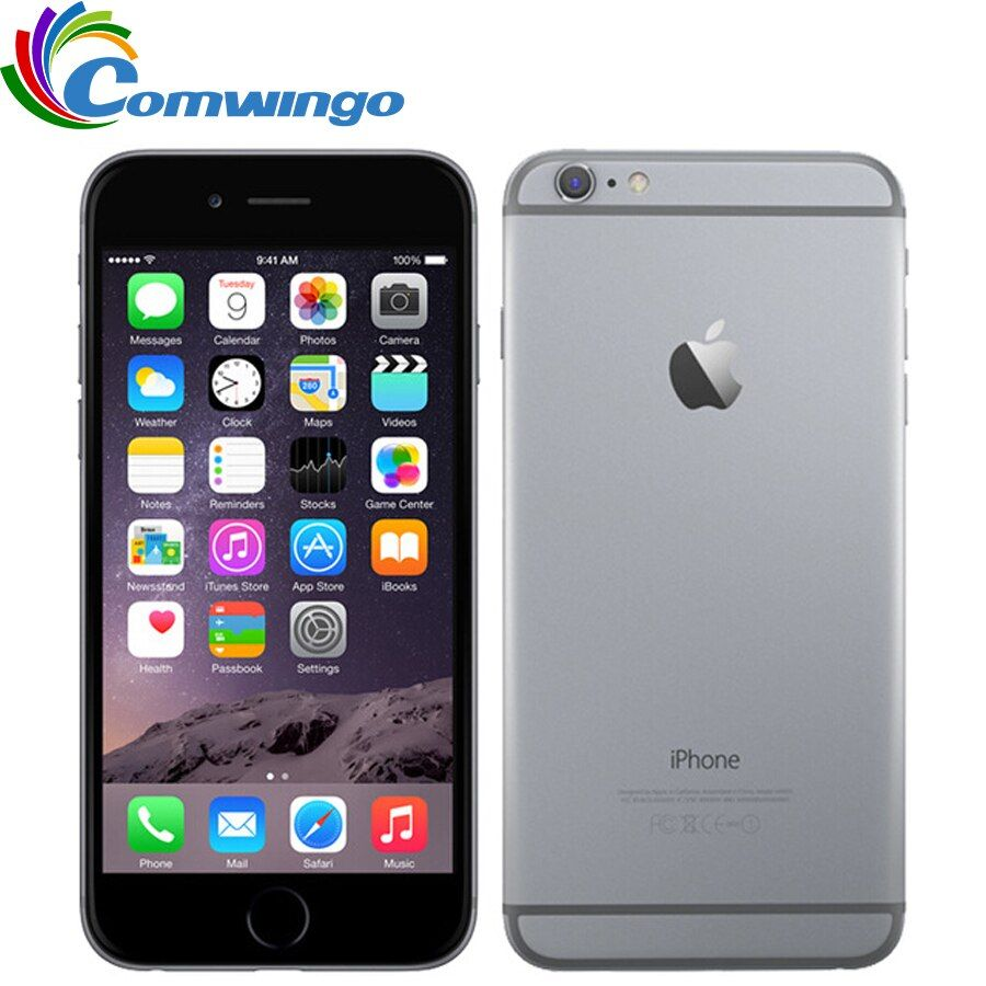 Original Unlocked Apple iPhone 6 Plus mobile phone 5.5