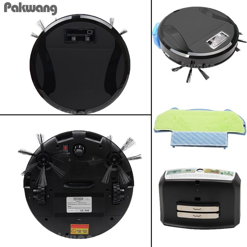 2018 2 In1 Wet And Dry Smart Vacuum Cleaner 330A Automatic Charging Robot For Home Floor Washing Clean Free Shipping
