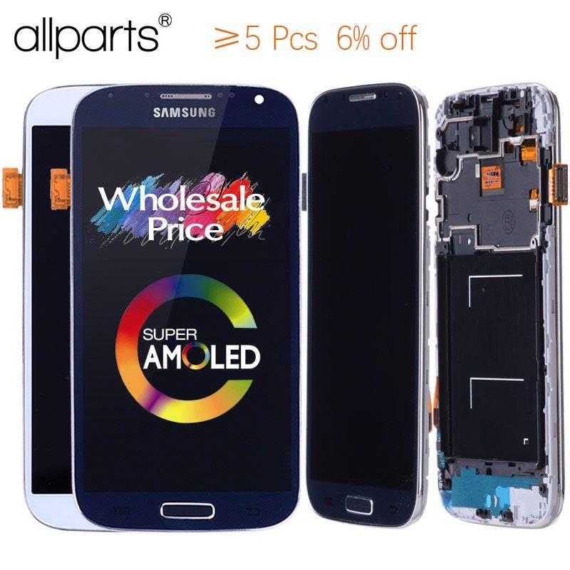ORIGINAL 5,0 ''Super AMOLED LCD für SAMSUNG Galaxy S4 LCD Display GT-i9505 i9500 i9505 i9506 i9515 i337 Touchscreen digitizer