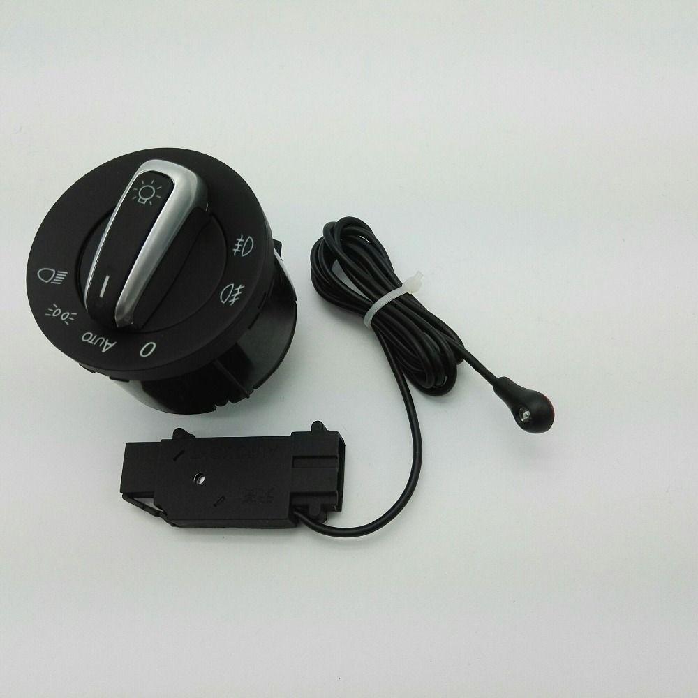 DAZOO New Headlight Switch and Auto Headlight Switch Sensor For VW Golf 5 6 MK5 MK6 Tiguan Passat B6 B7 CC Touran Jetta MKV