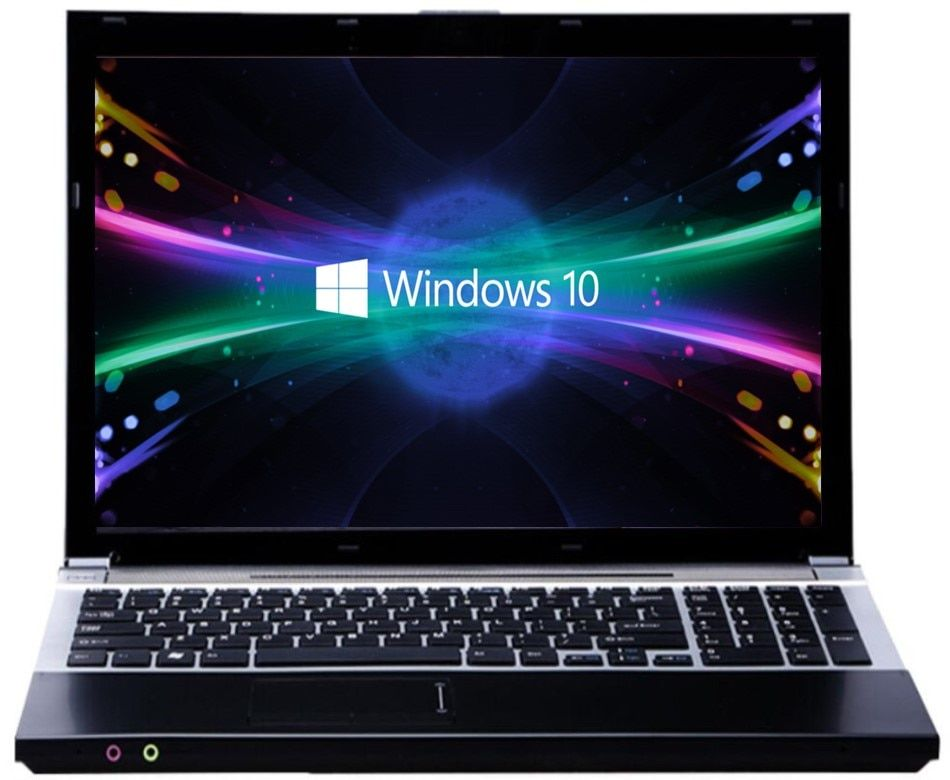 8G RAM+120G SSD+500GB HDD 15.6inch LED Intel Core i7 CPU Gaming Laptop Windows 7/10 Notebook with DVD-RW Built-in WIFI Bluetooth