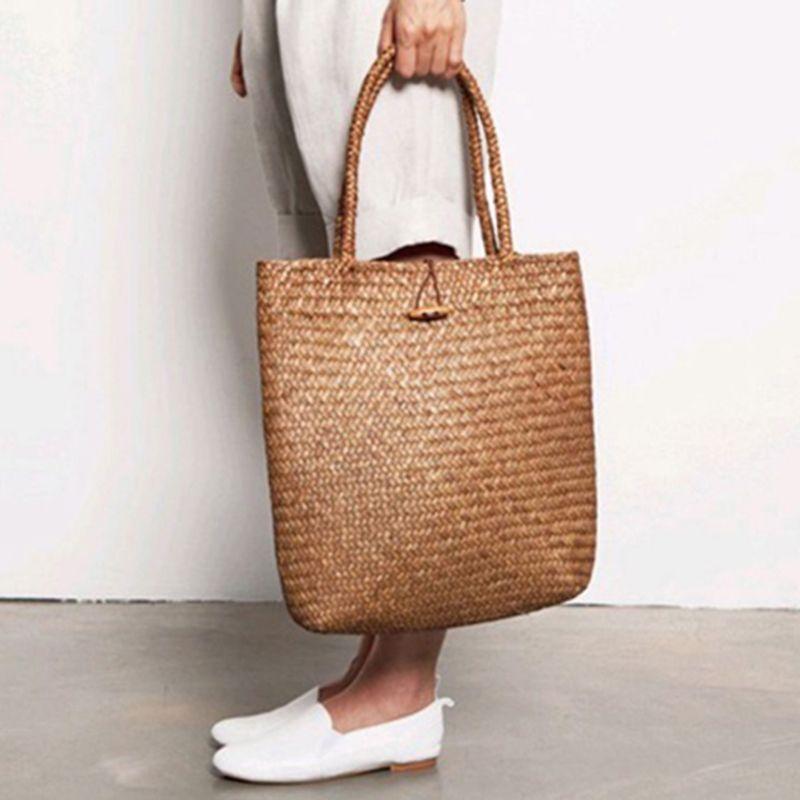 Femmes styliste dentelle sacs à main fourre-tout sacs à main sac en osier rotin sac à bandoulière Shopping sac de paille