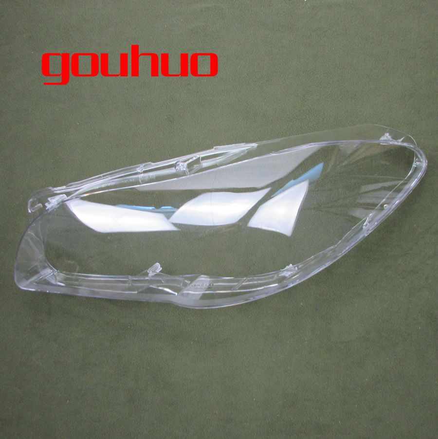 For BMW new 5 series F18 F10 520 523 525 535 530  front lamp shade headlamps transparent lampshade headlight shell 2PCS