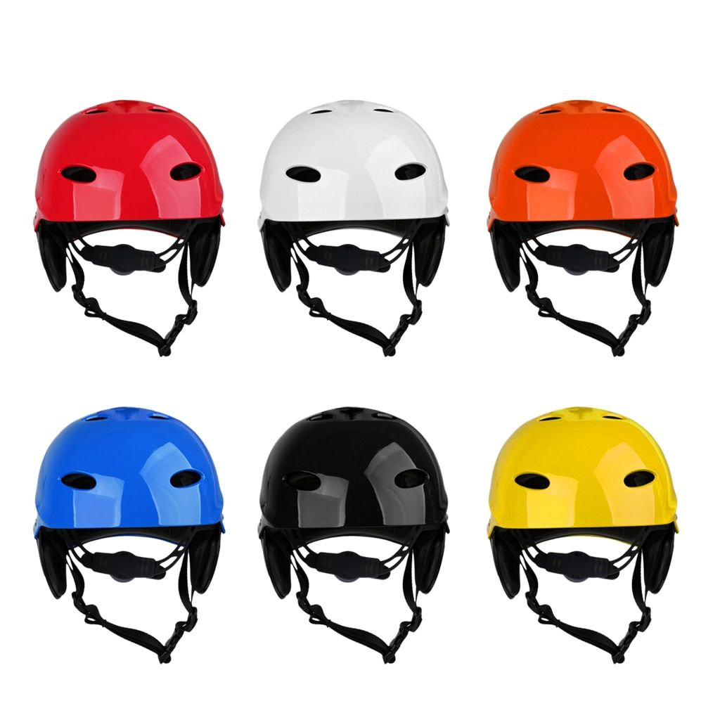 Men Adult Kids Water Sports Safety Helmet Kayak Canoe Skating Bicycle Surf Board Hard Cap Safety Rescue Protective Guard Gear