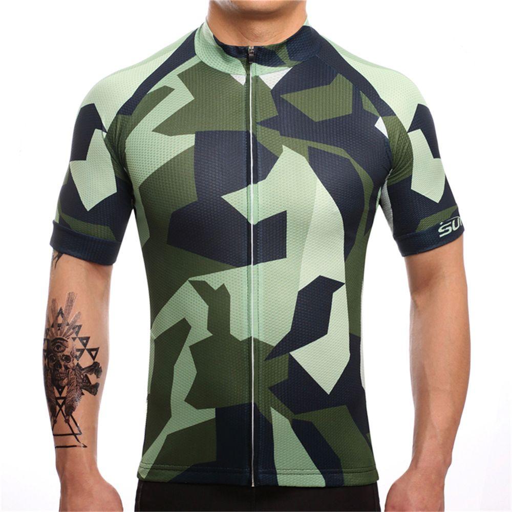 FUALRNY 2018 À Séchage Rapide à Vélo Jersey D'été Hommes Vtt Vélo Court Vêtements Ropa Bicicleta Maillot Ciclismo Vélo Vêtements # DX-06