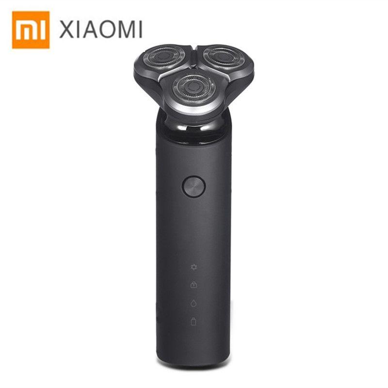 Xiaomi Electric Shaver for men beard trimmer razor xiaomi shaver shaving machine original 3 heads dry wet shave washable razor 5