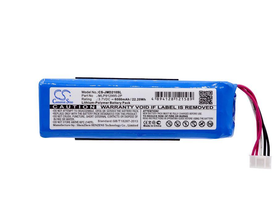 Cameron Sino 6000 mAh Batterie MLP912995-2P für JBL Ladung 2 Plus, ladung 2 +, bitte überprüfen sie die position des